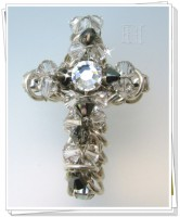 chainmaill handmade cross