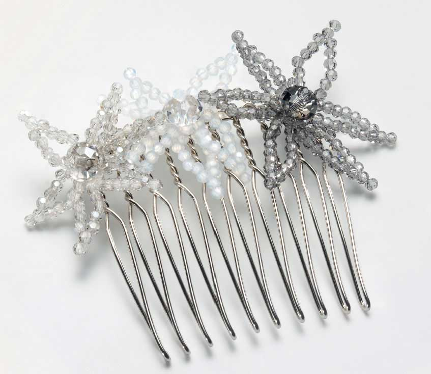 Crystal Hair Comb - free pattern