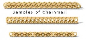 Chain Mail Samples