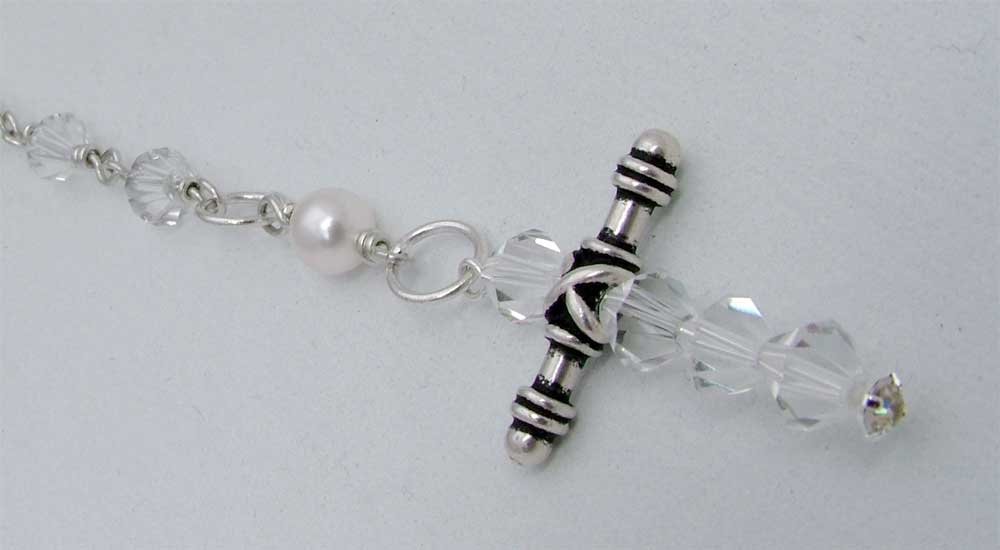 Handmade Crystal Cross