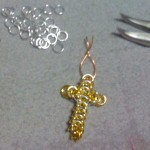 How to make chain mail cross