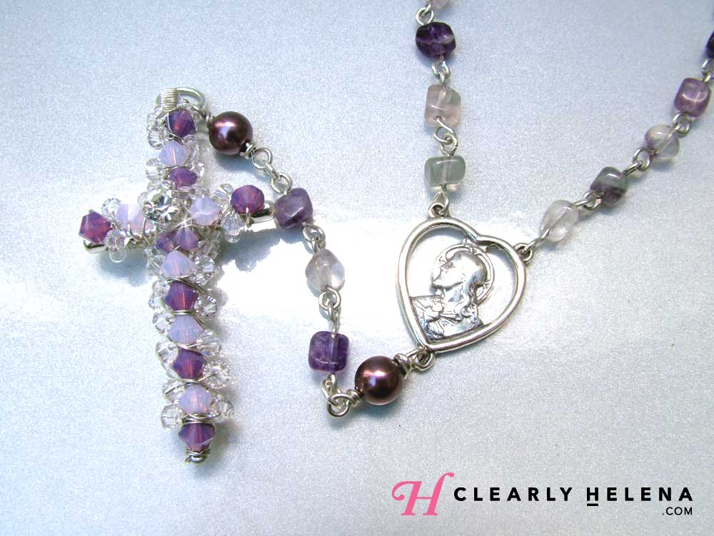 Handmade Rosary for Mom