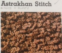 crochet stitches-astrakhan-crochet-stitch