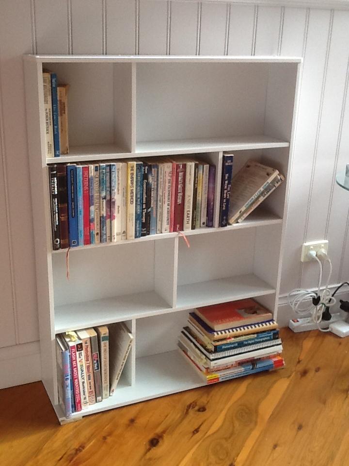 Bookhelf Or DVD Storage Front