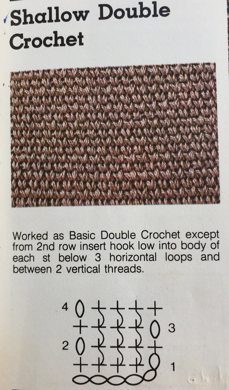 Crochet stitches symbols pictorial library clearlyhelena shallow double crochet bankloansurffo Image collections