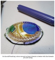 how to make customised glass cabochons