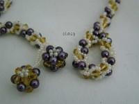 clasp: beaded-crochet-y-necklace