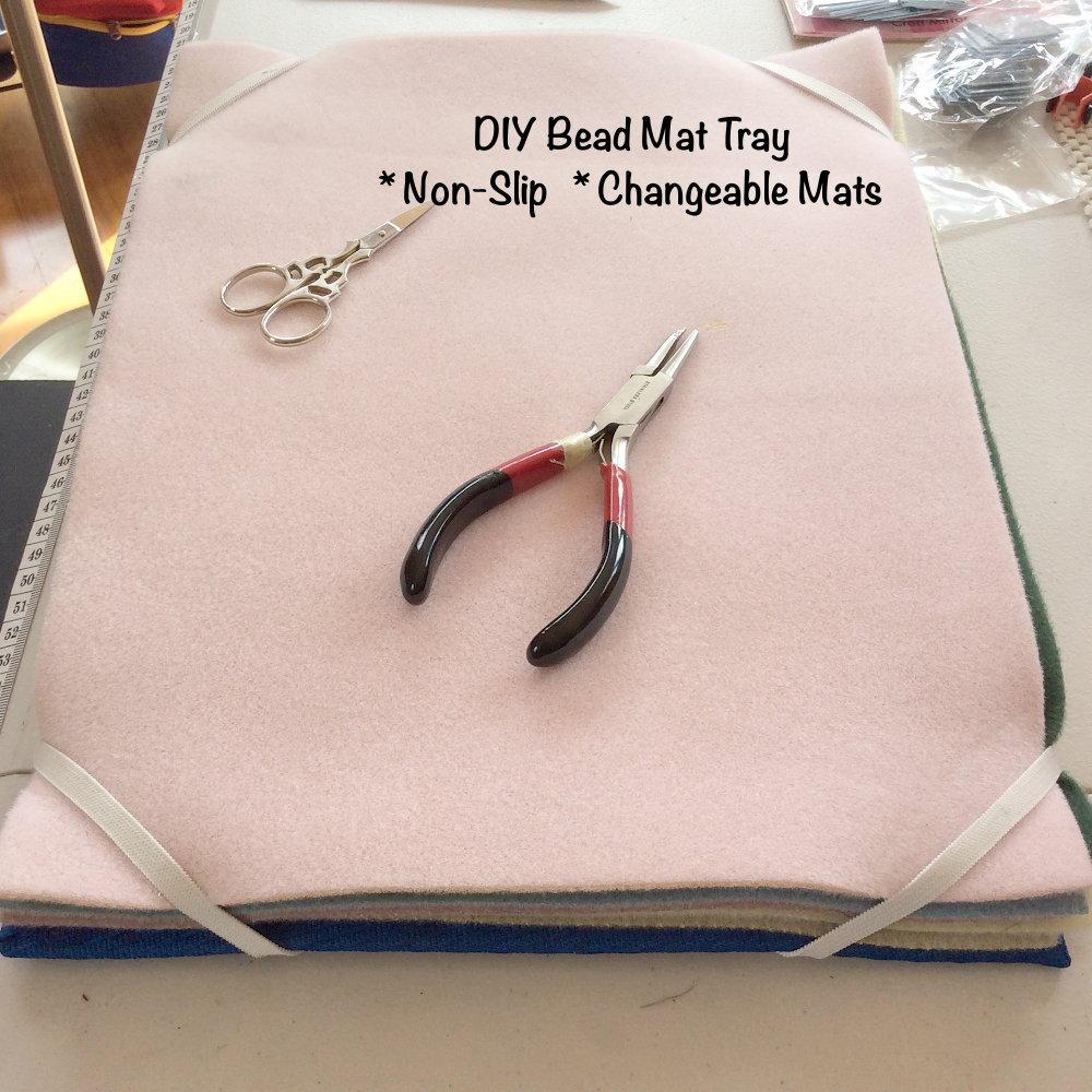 Bead Mat Tray Changeable Non Slip Diy ・clearlyhelena