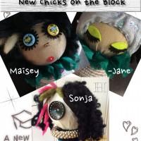 Quirky Decor Dolls: Sonja & Maisey-Jane