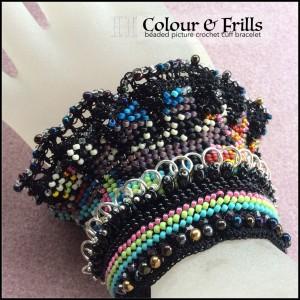 Colour & Frills Cuff Bracelet (CH0365)