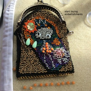 embellishments for the Moertel Fairy purse