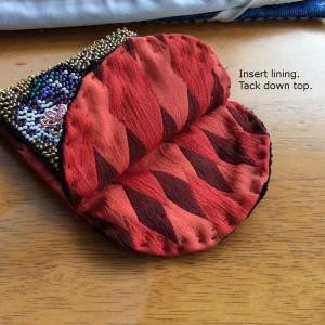 lining for Moertel Fairy purse