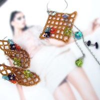 Open Mesh Jewelry Set