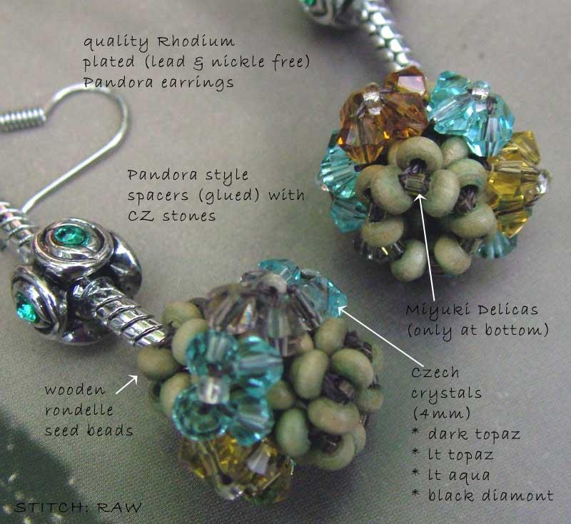 pandora-earring-wood-cc0103003