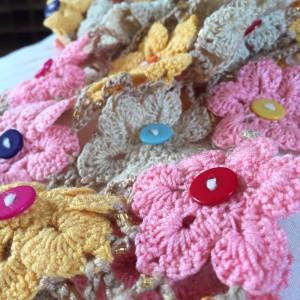 crochet flower shawl-CH0383-007