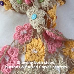crochet flower shawl-CH0383-013