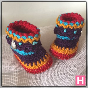 bohemian baby boots-ch0388-004