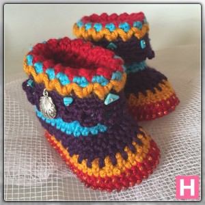 bohemian baby boots-ch0388-005