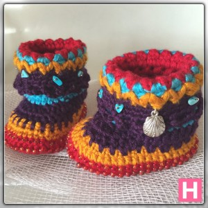 bohemian baby boots-ch0388-006