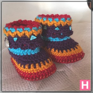 bohemian baby boots-ch0388-007