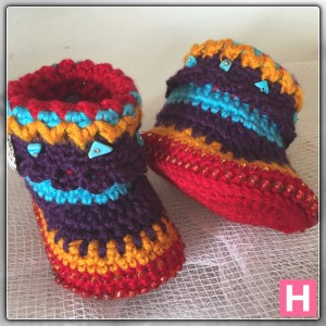 bohemian baby boots-ch0388-008