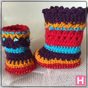 bohemian baby boots-ch0388-009