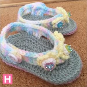 open toe baby sandals-CH0395B-003