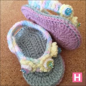 open toe baby sandals-CH0395B-004