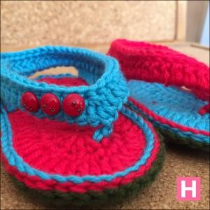 open toe baby sandals-CH0395C-002