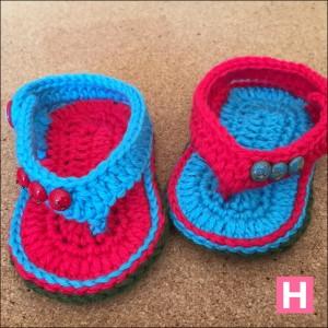 open toe baby sandals-CH0395C-005