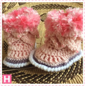 pink fluffy boots-CH0390-002