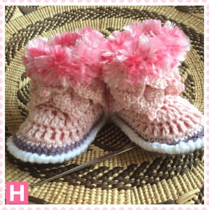 pink fluffy boots-CH0390-003