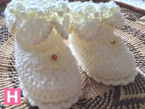 scallop edge baby shoes-F-001