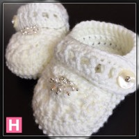 sparkly baby shoes CH0394-003