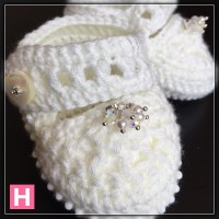 sparkly baby shoes CH0394-004