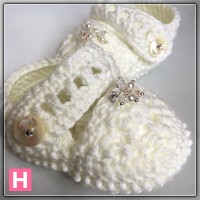 sparkly baby shoes CH0394-005