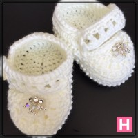 sparkly baby shoes CH0394-007