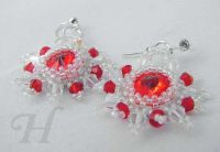 red sun earrings ch0243-003