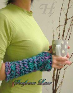seafoam lace gloves ch0263i-030