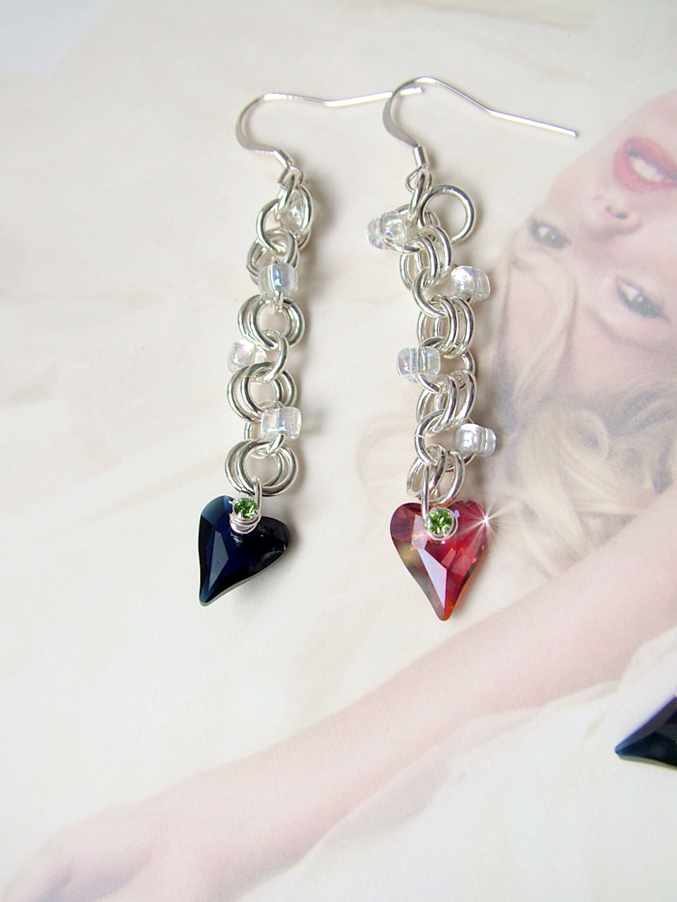 wild hearts earrings ch0154-000