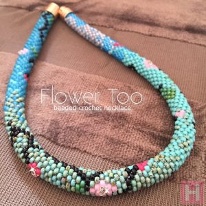 flower too necklace CH0408-001