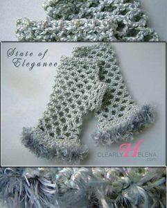 gray elegance gloves-ch0276F-012