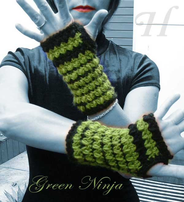 green ninja gloves-ch0261-006