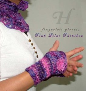 pink lilac gloves-ch0263S-051