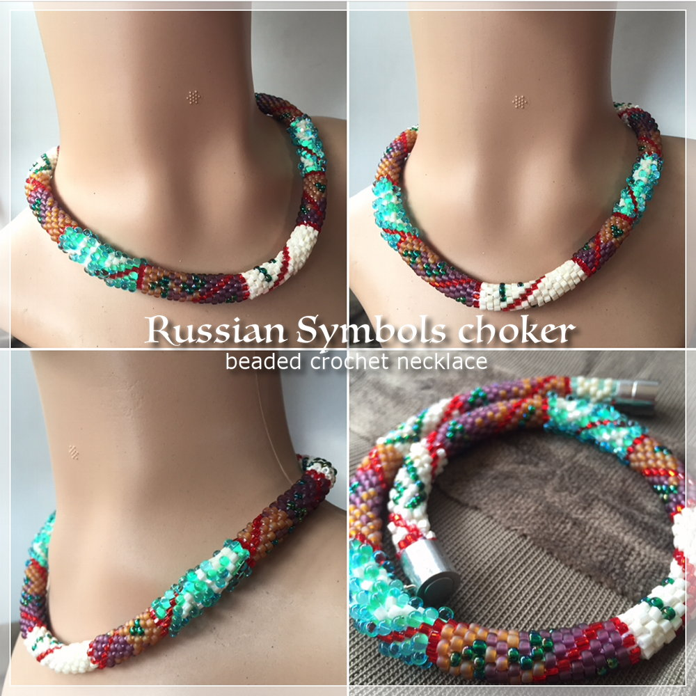 russian symbols necklace CH0405-000