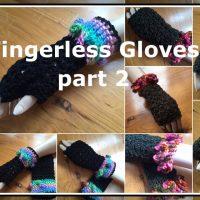 Hand Fingerless Gloves 2 – Winter 2016