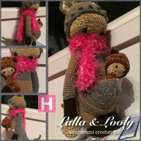 Crochet Amigurumi Kangaroo – Lalla & Looly