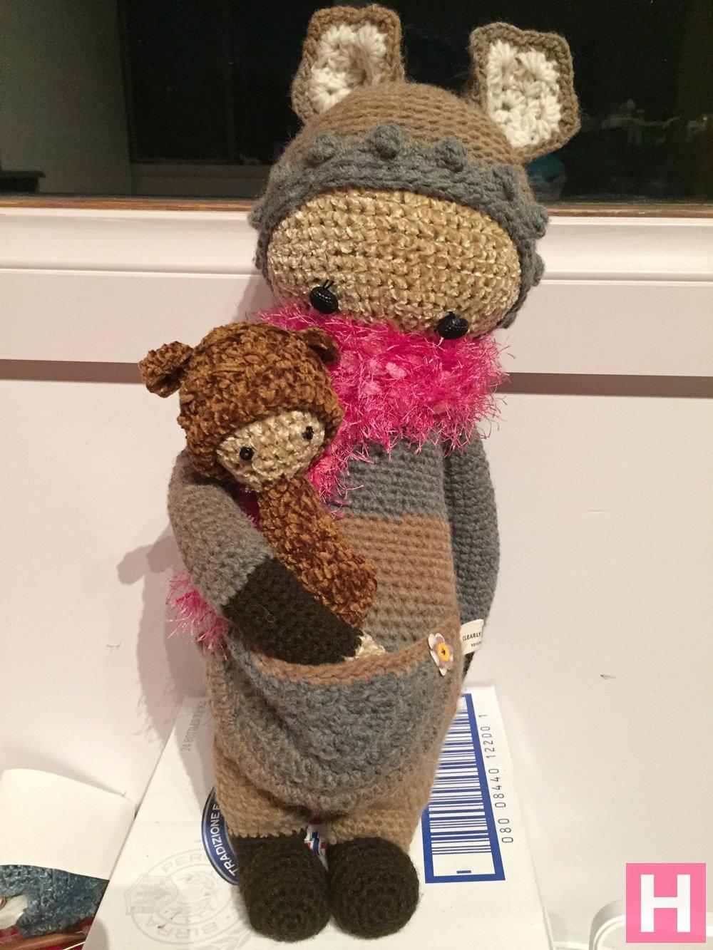 Amigurumi Kangaroo : Crochet Amigurumi Kangaroo - Lalla & Looly ?ClearlyHelena