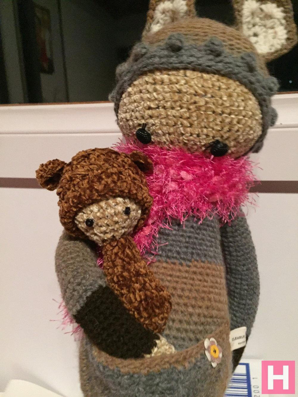 Amigurumi Doll Body : Crochet Amigurumi Kangaroo - Lalla & Looly ?ClearlyHelena