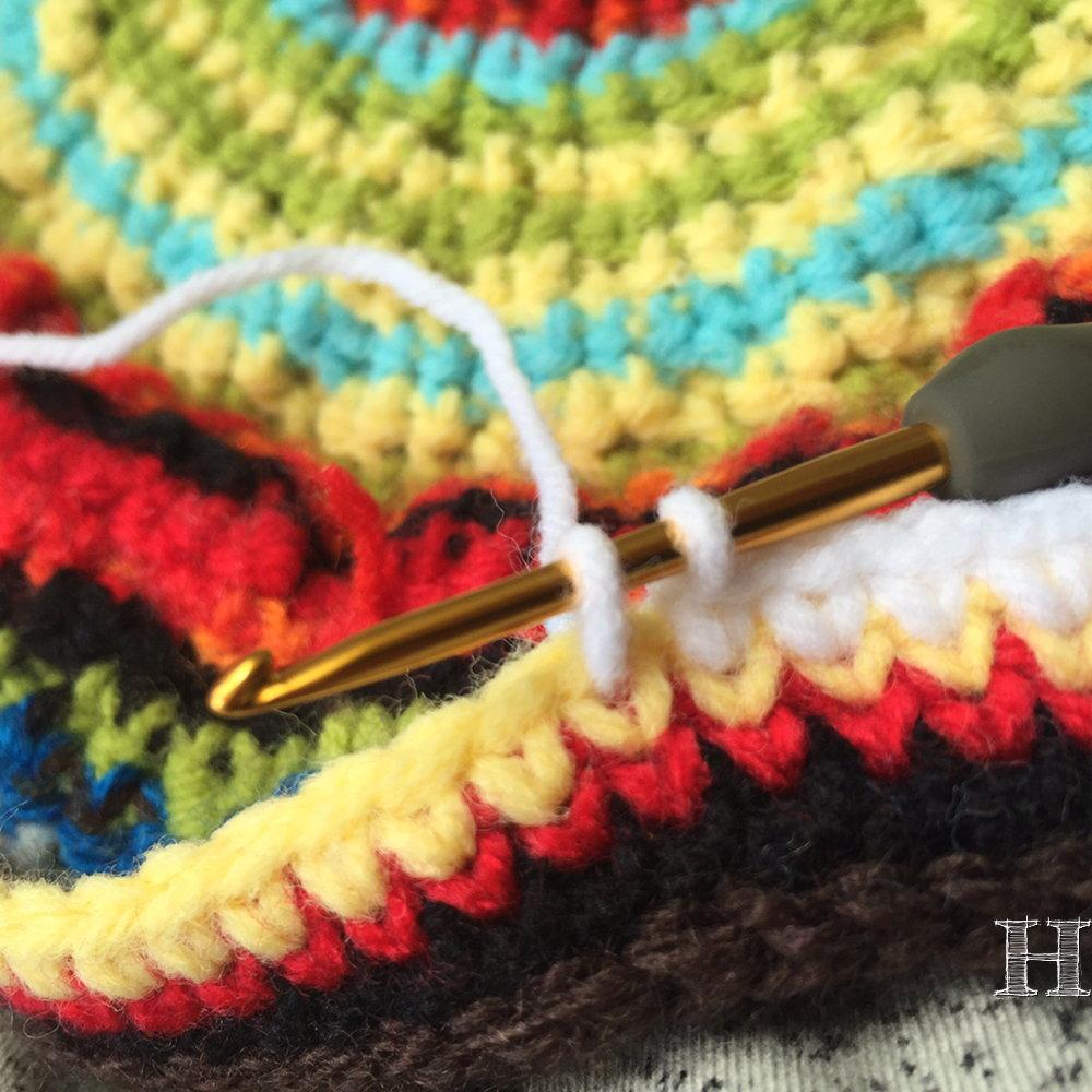 Knit Single Crochet Stitch - How To ?ClearlyHelena